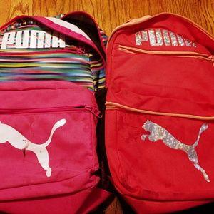 Girls puma backpacks